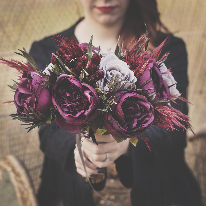 Silk Bridal Bouquet