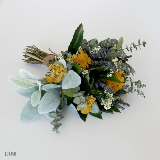 Wildflower Dried Wedding Bouquet