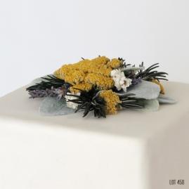 Dried Flower Wildflower Boho Cake Topper
