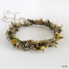 Dried Wildflower Hair Crown