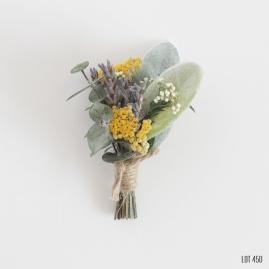 Dry Flower Boho Boutonniere