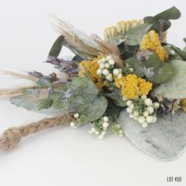 Dry Flower Wildflower Wrist Corsage