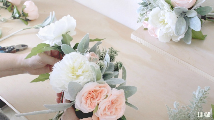 Floral Design Silk